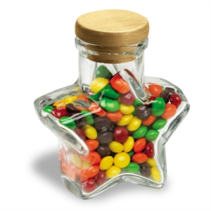 Glass Container Small Star by PaperDirect