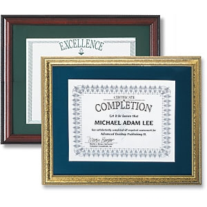 Large Certificate Frames by PaperDirect