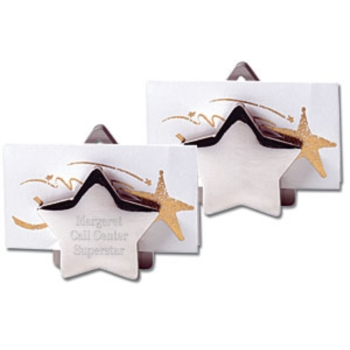 Double Star Business Card/Letter Holder by PaperDirect