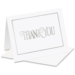 Wedding Thank You Card Sample Wording Paperdirect Blog