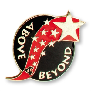 Shooting Star Above Beyond Pin by PaperDirect