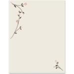 Simple Blossoms Border Papers by PaperDirect