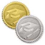 Graduation Embossed Seals