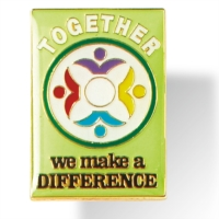 Together we make a Difference Pin by PaperDirect