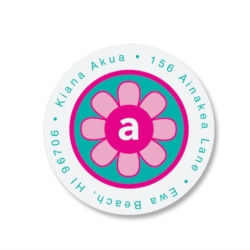 Bloom Round Address Labels by PaperDirect