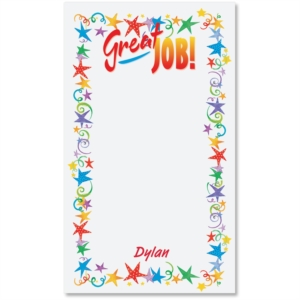 Great Job Personalized Note Pad by PaperDirect