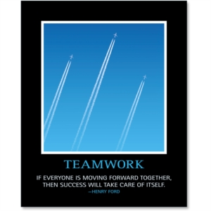 Teamwork Poster by PaperDirect