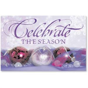 Winters Glow Printable Greeting Cards