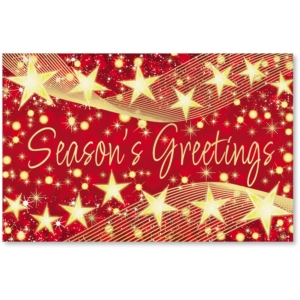 Star Glow Printable Greeting Cards by PaperDirect