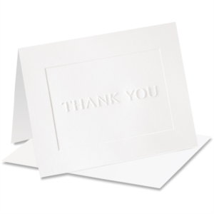 Dignity Embossed Thank You NoteCards™