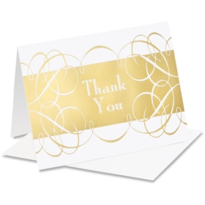 Intertwined Specialty Thank You NoteCards by PaperDirect