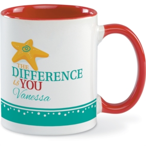 The Difference is You Mug by PaperDirect