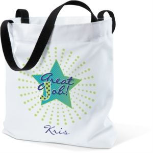 Great Job Star Tote Bag