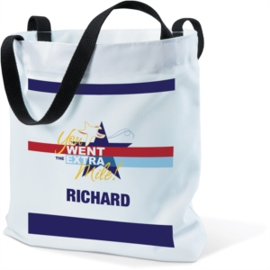 Extra Mile Tote Bag