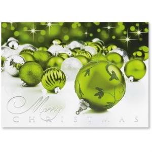 Holiday card sayings for your business nows the time to order peridot stars deluxe holiday greeting card by paperdirect m4hsunfo