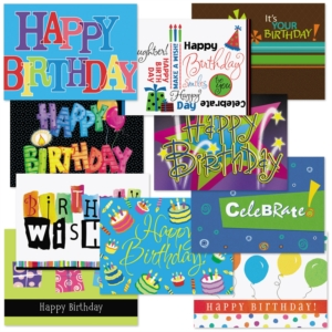 Birthday Card Assortment by PaperDirect