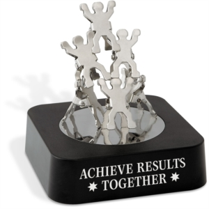 Teamwork Clips Magnetic Sculpture
