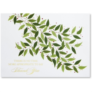 Reaching Out Deluxe Holiday Greeting Card by PaperDirect