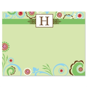 Eccentric Personalized Correspondence Cards by PaperDirect
