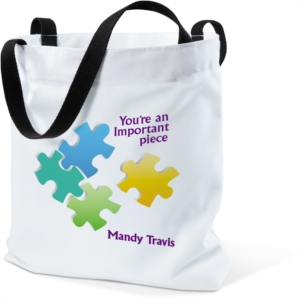 Important Piece Tote Bag by PaperDirect