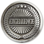 Excellence Recognition Coin by PaperDirect