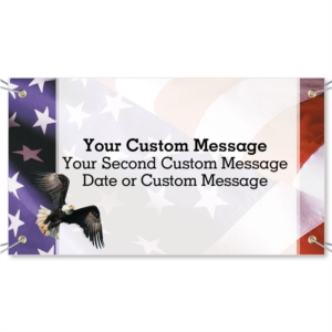 Freedom Vinyl Banners by PaperDirect