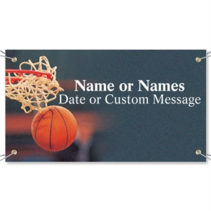 Nothing But Net Vinyl Banners by PaperDirect