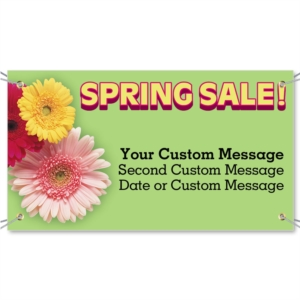 Spring Sale Vinyl Banners by PaperDirect