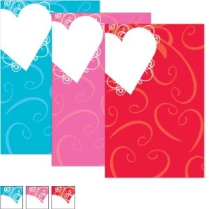 Heart Shaped Wishes Casual Invitations by PaperDirect