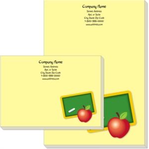 Teacher's Apple Post-it® Notes