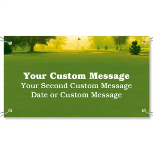 Back Nine Vinyl Banners by PaperDirect