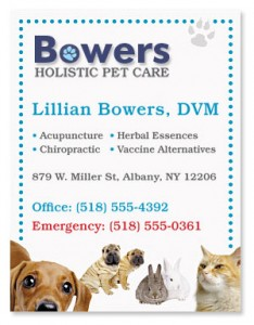 Animal Clinic Magnet