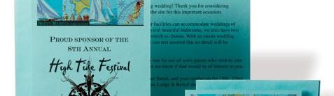 Aquamarine Postcards by PaperDirect