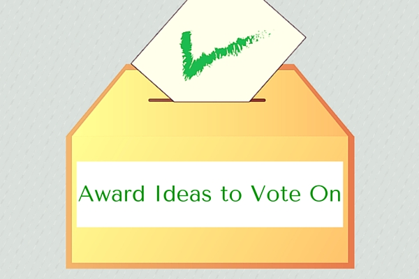 Award Ideas to Vote On