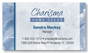 Charisma Business Cards
