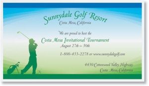 Promoting a Golf Tournament   PaperDirect Blog