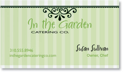 Garden Gate Business Cards by PaperDirect