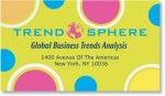 Graphic Circles Business Cards by PaperDirect