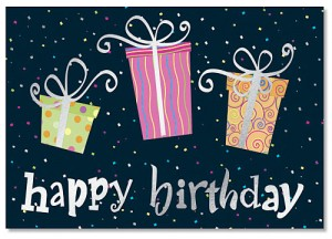 Birthday Gifts Deluxe Greeting Card Set