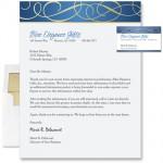 Blue Elegance Foil Letterhead by PaperDirect