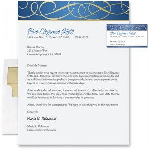 how to make a company letter head