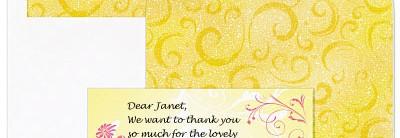 Dancing Daisies Correspondence Card Set