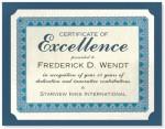 Premier Blue Standard Certificates by PaperDirect