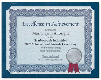 make your own award certificates paperdirect blog