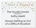 Above and Beyond II Specialty Certificates by PaperDirect