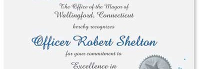 You Make A Difference Specialty Certificates