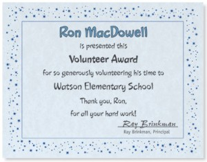 volunteer appreciation certificates free templates - creating a memorable volunteer certificate paperdirect blog