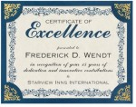 Intricate Scroll Standard Certificates by PaperDirect