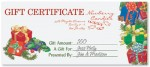 Presents Fill-In-The-Blank Gift Certificates by PaperDirect