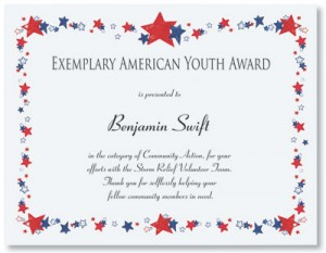 All American Casual Certificates